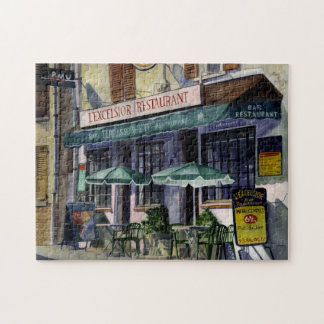 Rompecabezas del café de París