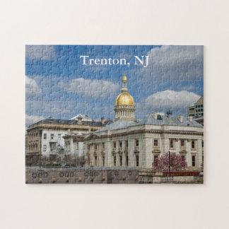 Rompecabezas del capitolio del estado de Trenton