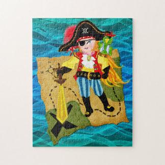 Rompecabezas del chica del pirata
