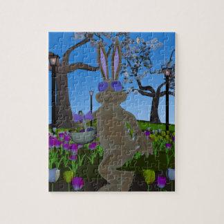 Rompecabezas del conejo de Pascua