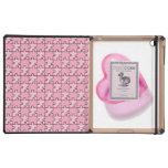 Rompecabezas del corazón del rosa del caso del Dod iPad Cobertura