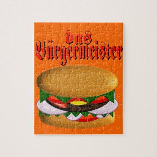 rompecabezas del das Burgermeister