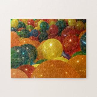 Rompecabezas del diseño de los globos