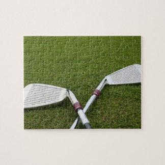 Rompecabezas del diseño del club de golf