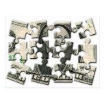 Rompecabezas del dólar postal