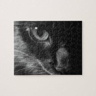 Rompecabezas del gato negro