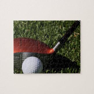 Rompecabezas del hierro y de la bola del golf