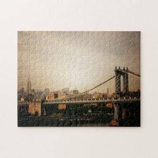 Rompecabezas del horizonte de Nueva York - puente