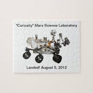 Rompecabezas del laboratorio de ciencia de Marte d