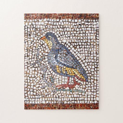 Rompecabezas del mosaico del pájaro de Kos