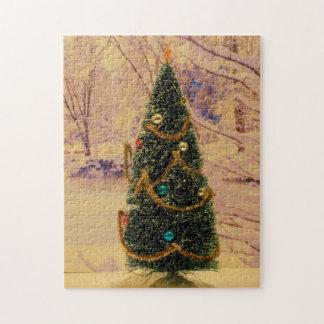 ROMPECABEZAS del navidad del árbol de navidad