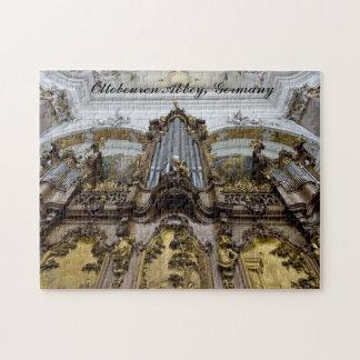 Rompecabezas del órgano de la abadía de Ottobeuren