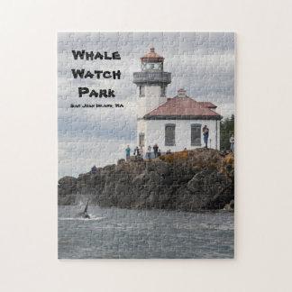 Rompecabezas del parque del reloj de la ballena