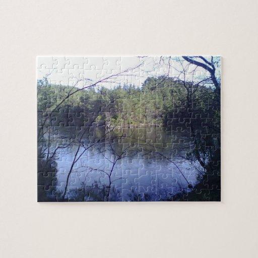 Rompecabezas del pequeño lago