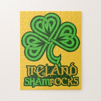 Rompecabezas del personalizado de Irlanda