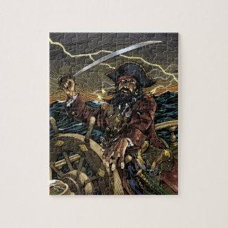 Rompecabezas del pirata de Blackbeard