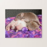 Rompecabezas del ratón:  3 ratones del bebé