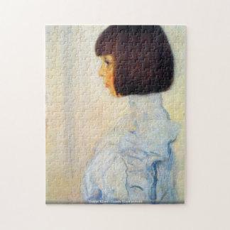 Rompecabezas del retrato de Gustavo Klimt - de Ele