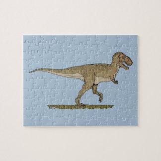 Rompecabezas del rex del T.