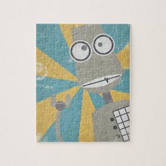 Rompecabezas del robot (en gris)