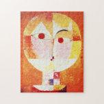 Rompecabezas del Senecio de Paul Klee
