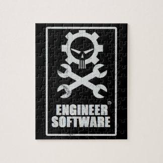 Rompecabezas del software del ingeniero