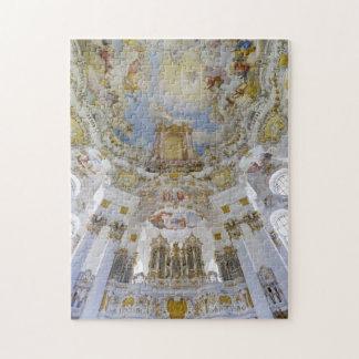 Rompecabezas del techo de la iglesia de Wieskirche