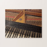 Rompecabezas del teclado y de los pernos de piano