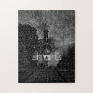 Rompecabezas del tren del vapor