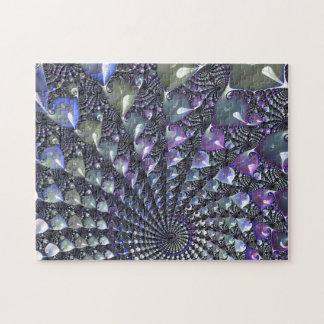 Rompecabezas difícil del fractal