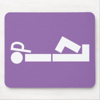Rompecabezas divertido Mousepad del somnífero