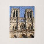 Rompecabezas elegante con Notre Dame de Paris