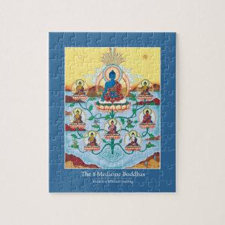 ROMPECABEZAS EN la LATA - 8 amos Buddhas-Curativos