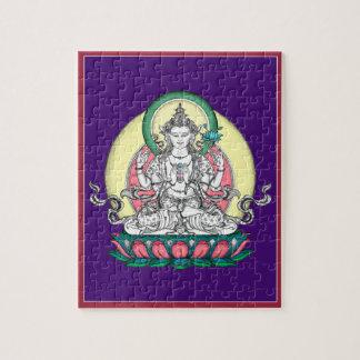 ROMPECABEZAS EN LA LATA - Chenrezig - Buda de la c