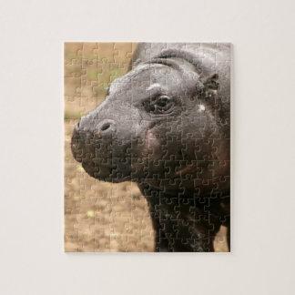 Rompecabezas enano del hipopótamo