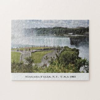 Rompecabezas fotográfico de Niagara Falls Nueva Yo