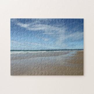 Rompecabezas hermoso de la escena de la playa