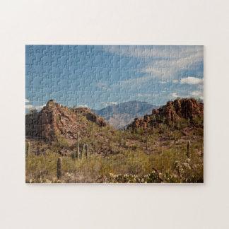 Rompecabezas hermoso del paisaje del desierto
