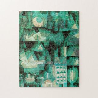 Rompecabezas ideal de la ciudad de Paul Klee