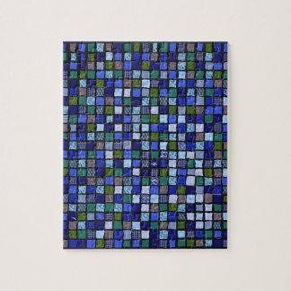 """Rompecabezas imposible del """"mosaico azul"""""""