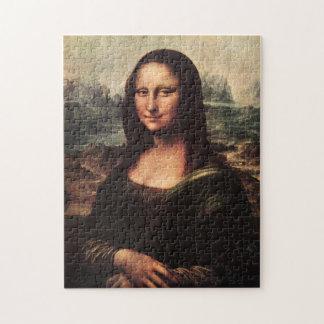 Rompecabezas Leonardo da Vinci de Mona Lisa del vi