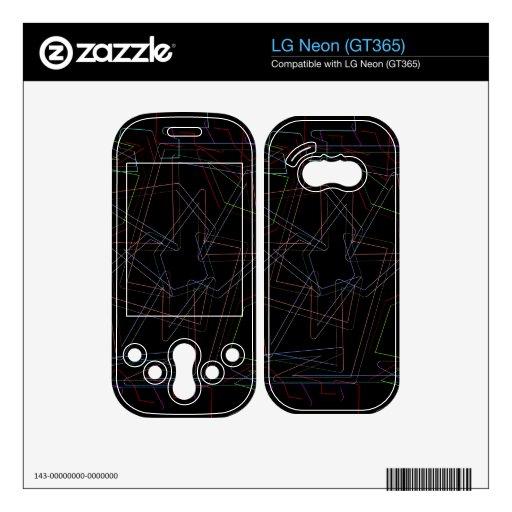 Rompecabezas LG Neon Skins