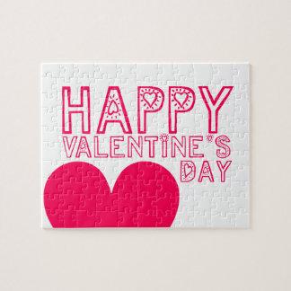Rompecabezas lindo del el día de San Valentín