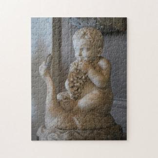 Rompecabezas - muchacho romano de la estatua con l