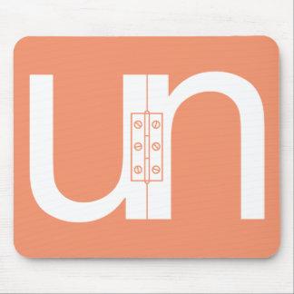 ) Rompecabezas O.N.U-Con bisagras Unhinged Tapetes De Raton