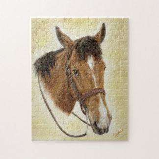 Rompecabezas occidental del caballo