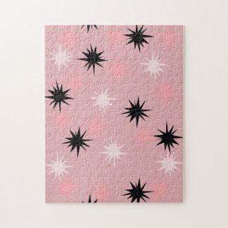 Rompecabezas rosado atómico de Starbursts