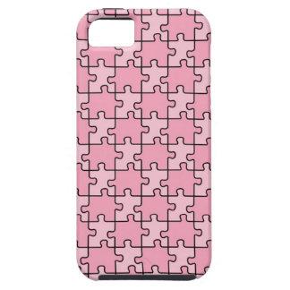 Rompecabezas rosado del caso del iPhone 5 de la co iPhone 5 Case-Mate Coberturas