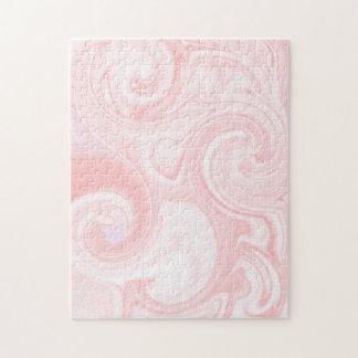 Rompecabezas rosado del remolino