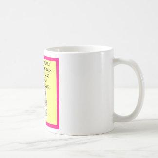 rompecabezas taza básica blanca